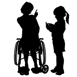 A disabled person's child or grandchild may be eligible for auxiliary disability benefits