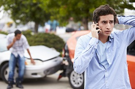 A careless teen driver can easily cause a serious traffic crash
