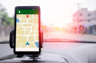 Car accidents caused by a GPS
