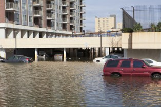Cars damaged by Hurricane Harvey