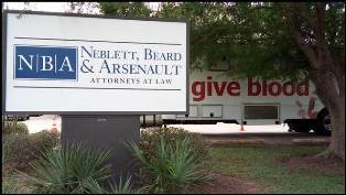 Neblett, Beard & Arsenault Blood Drive