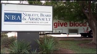 Neblett, Beard & Arsenault Blood Drive