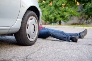 Car and pedestrian accidents