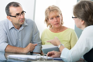 Attorney questions during a consultation