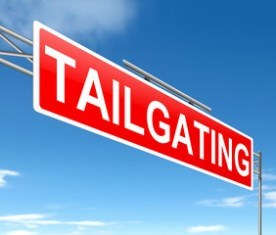 Accidents caused by tailgating