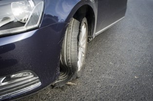 Accidents and tire blowouts