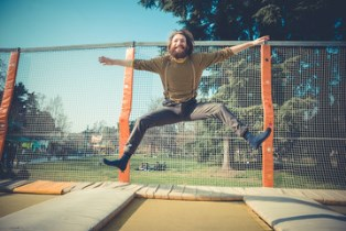 Accidents on trampolines