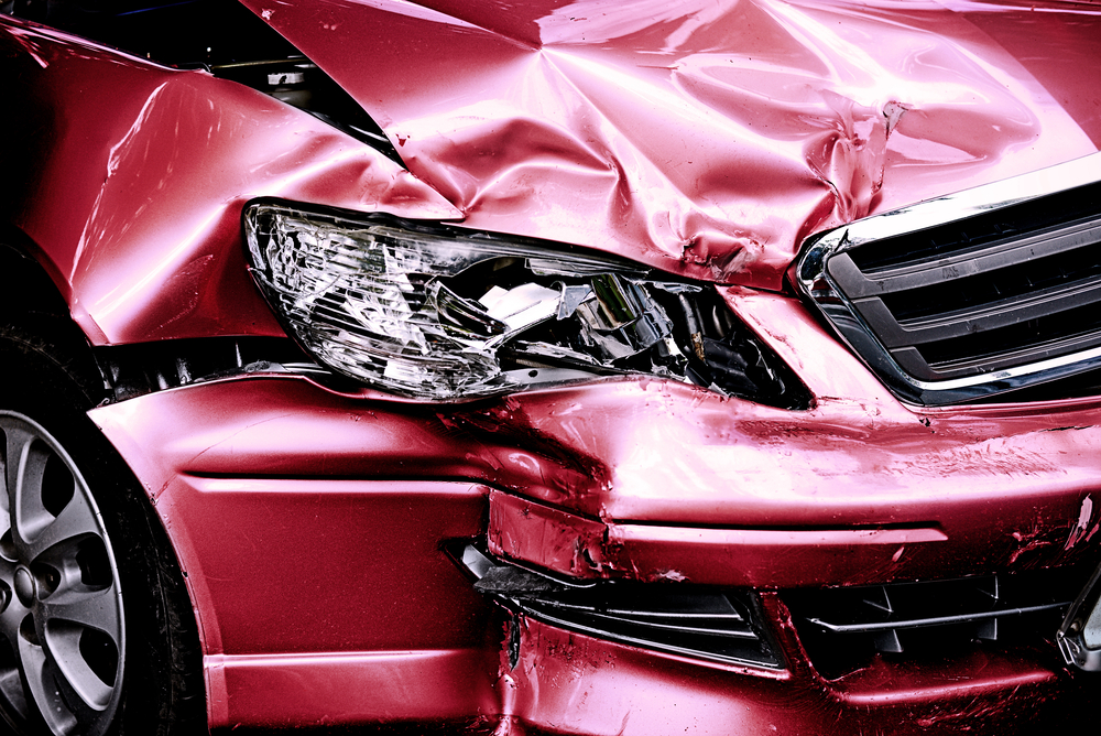 Vehicle damage helps prove liability