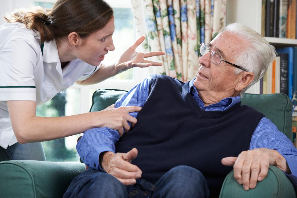Verbal abuse in nursing homes