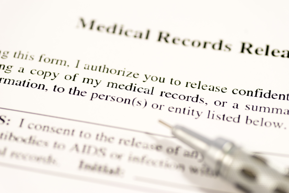 why signing a medical release form can harm your case neblett