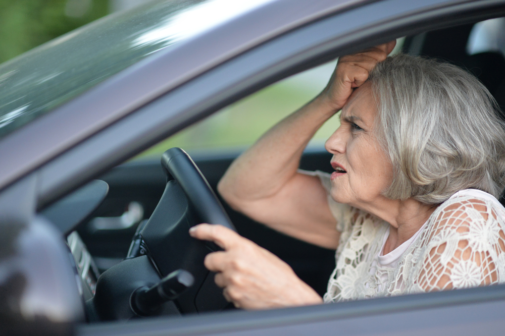 Car accidents with elderly drivers