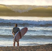 Surfing: Chuck's personal passion