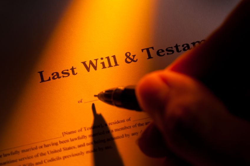 A Last Will and Testament are Important