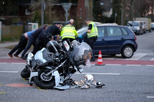 Motorcycle accidents with other vehicles