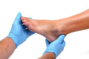 Foot exam