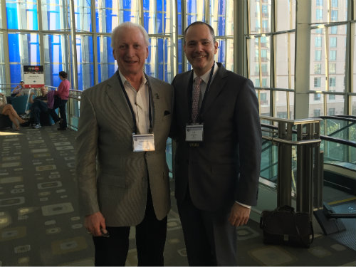 Dr. Robert G. Parker with Dr. Shai Rozen at the ACFAS annual conference in Austin, TX.