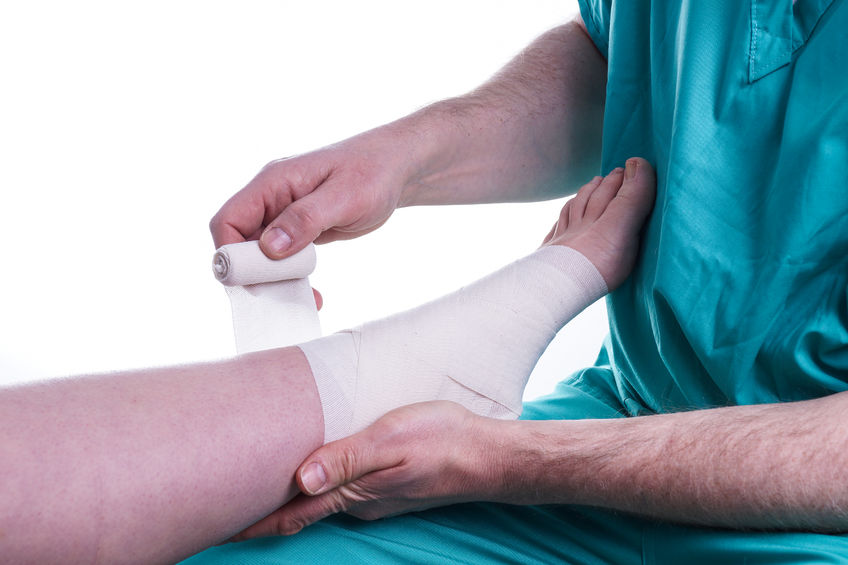 Ankle Injury Fixed By Podiatrist