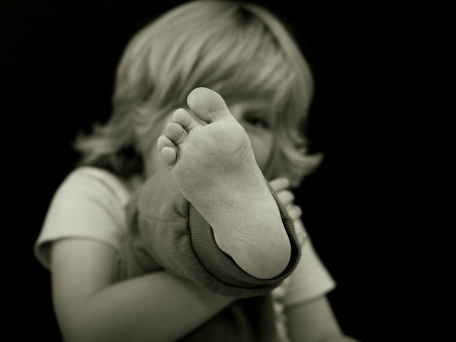 Foot of a Child