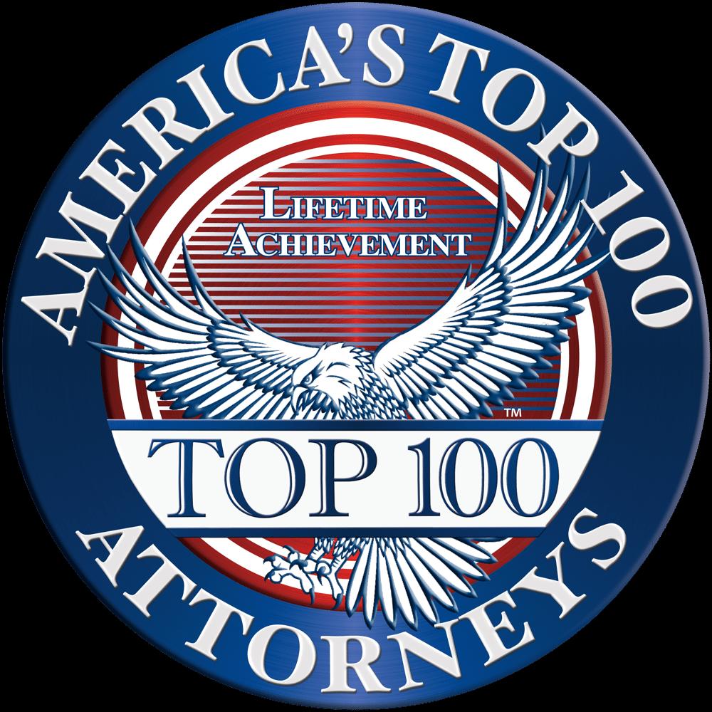america's top 100 attorneys badge