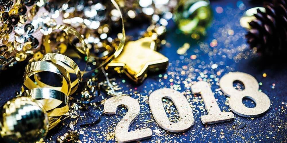 New Year's eve 2018 party favors