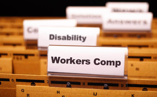 attorney files with workers Comp and disability