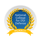 attorney Reaves National College for DUI Defense badge