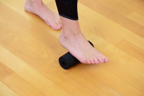 Stretch for heel pain