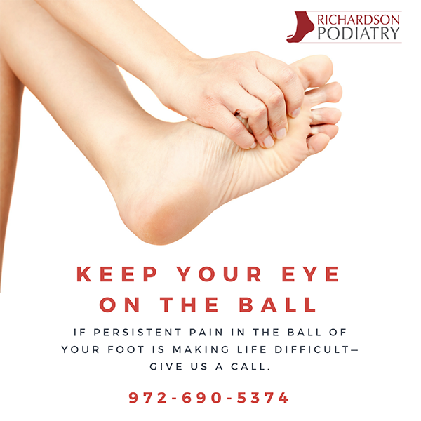 Pain in the Ball of your Foot