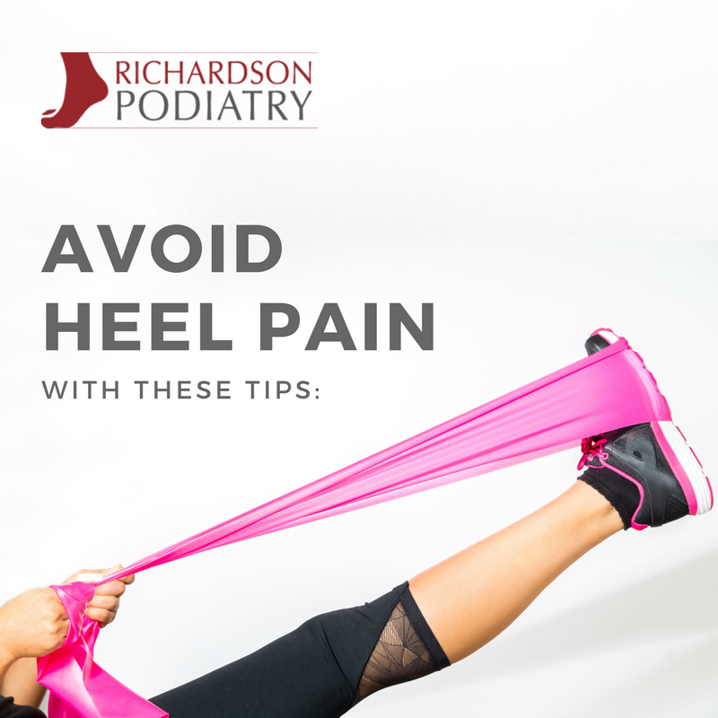 Avoid Heel Pain