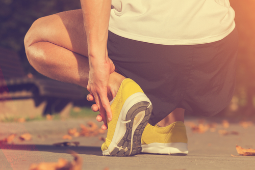 ankle pain while running