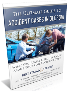 Free guide book cover for injury cases in Georgia