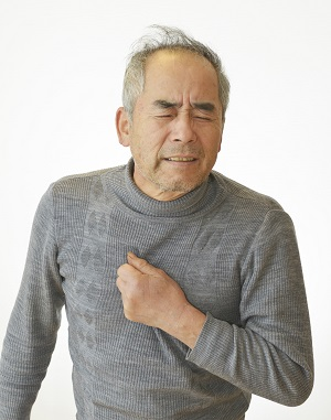 Man with occupational disease