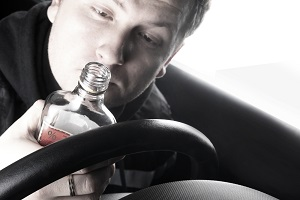 An intoxicated truck driver is a threat to all other people on the road
