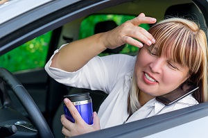 Driver distraction is often the cause of serious car crashes