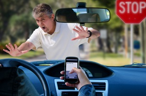Pedestrians injured by drivers distracted by text messages may receive compensation for their injuries