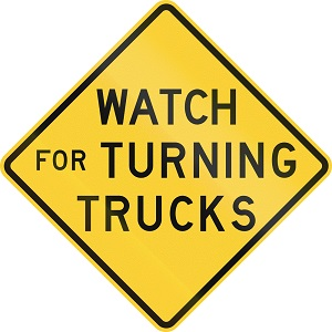 Consult an attorney after a swinging turn truck crash or fatal collision