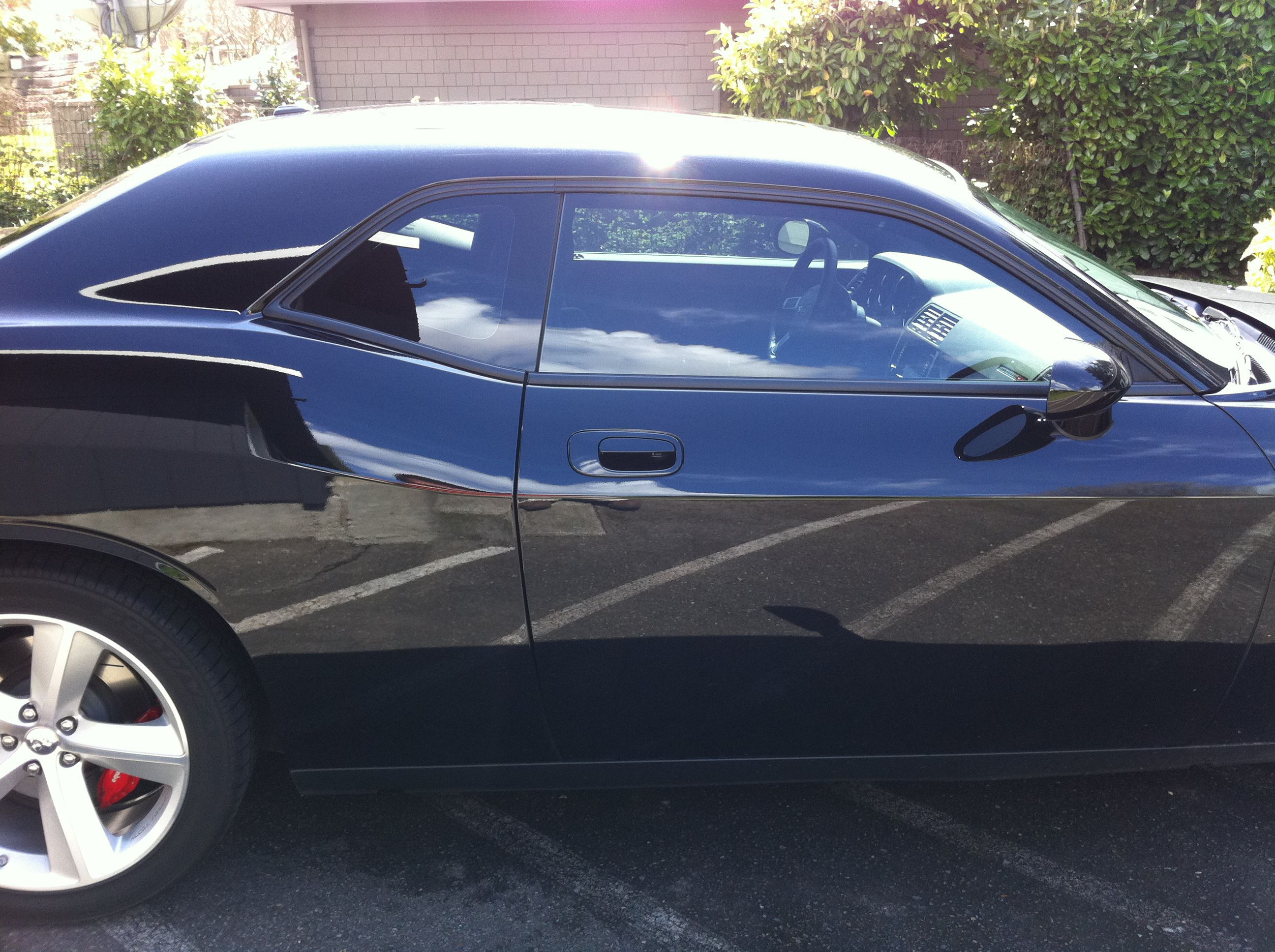 2010 Dodge Challenger window tint