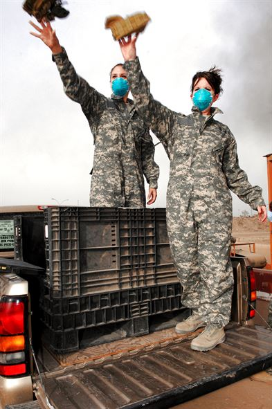 Service Men and Women exposed to burn pits and resultant pollution