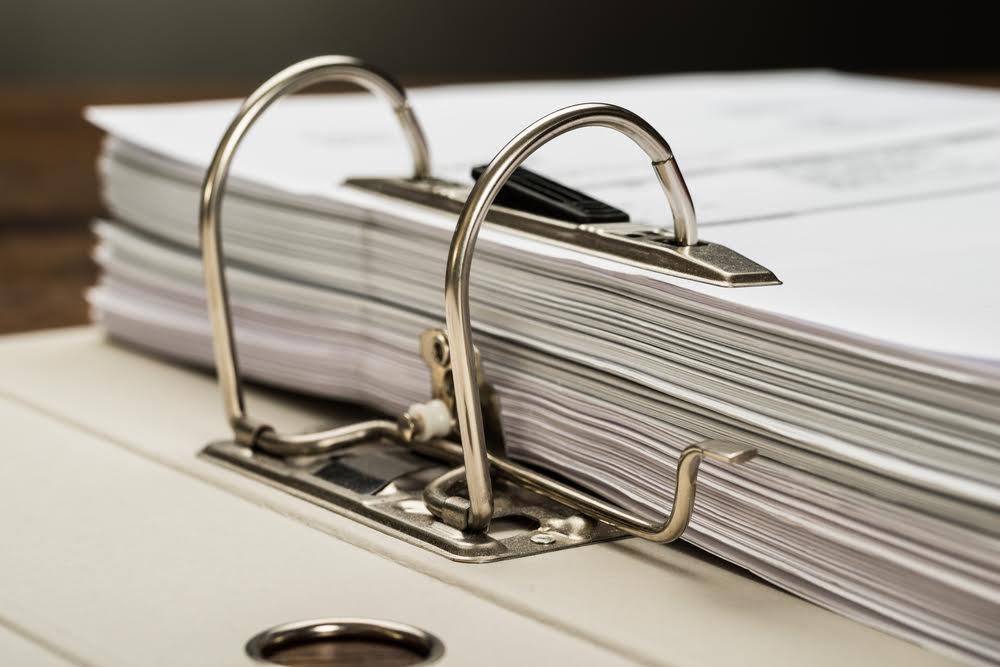 binder of evidence