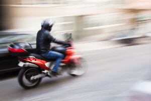 Motorcycles Should Stay Back From Cars