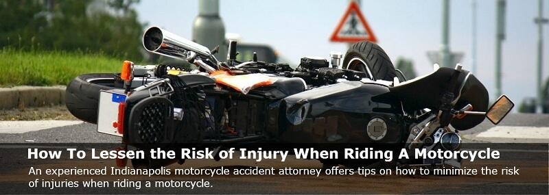 Indianapolis motorcycle accident scene