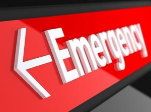 internal bleeding in the ER