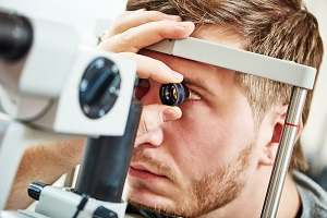 Ophthalmology eye examination