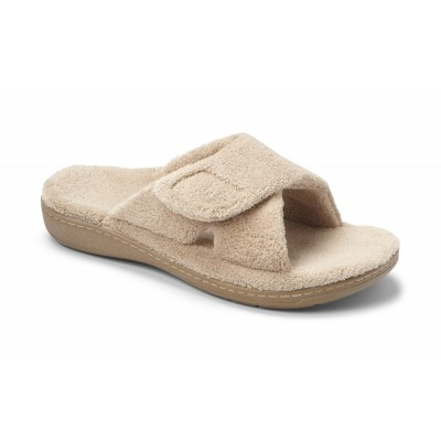 Relax Tan Slippers