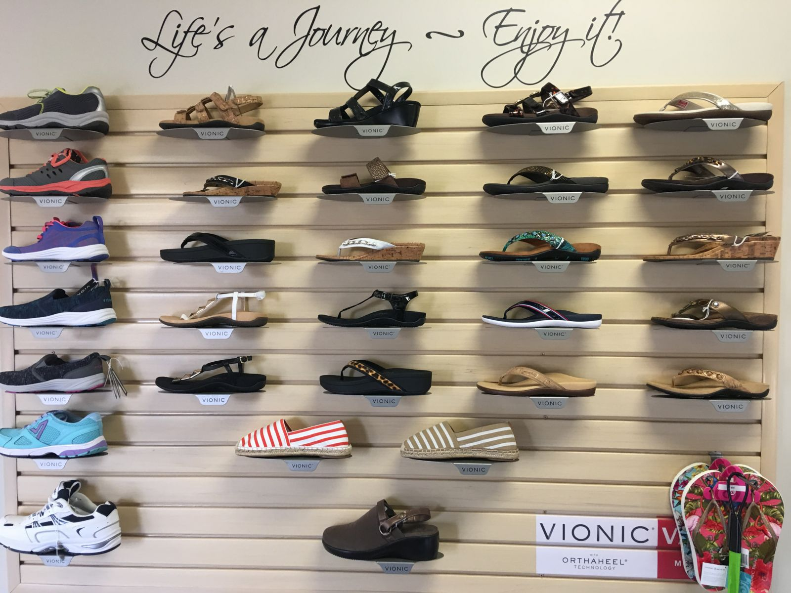 Vionic Shoe Selection