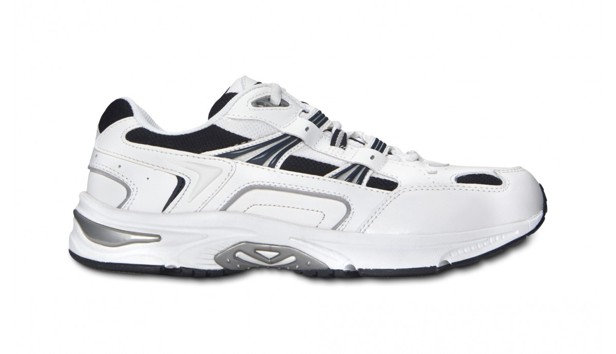 Mens Walker: White/Navy