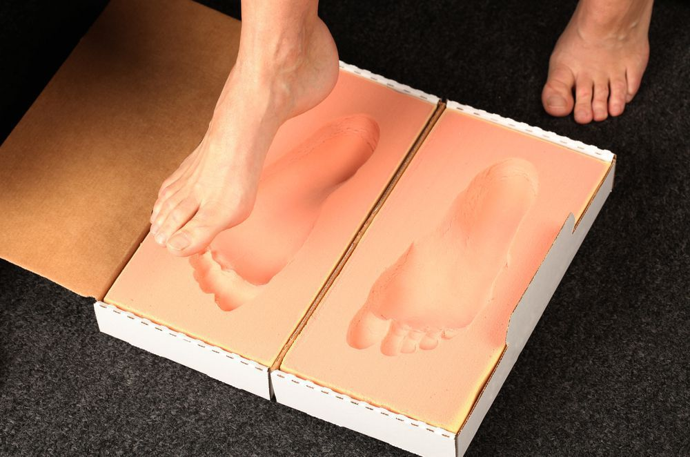 Custom orthotic impression