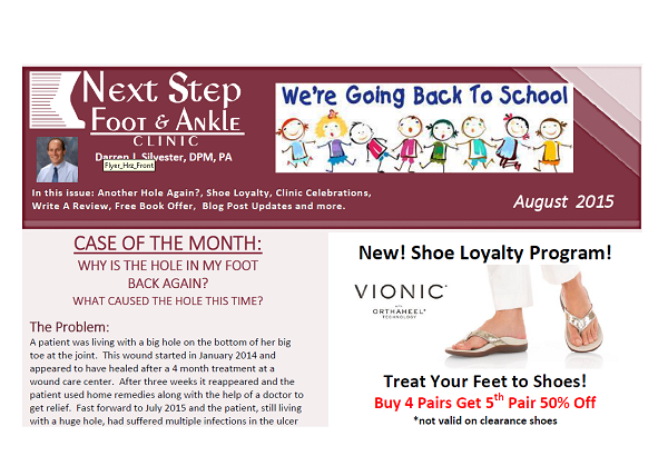 Next Step Foot & Ankle Clinic's e-Newsletter