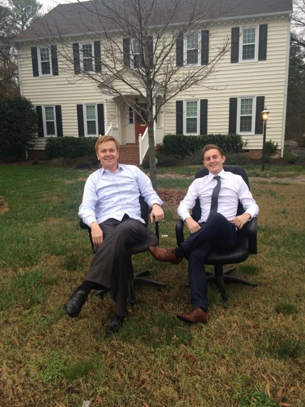 Intern Trent Candy and Attorney Van Smith