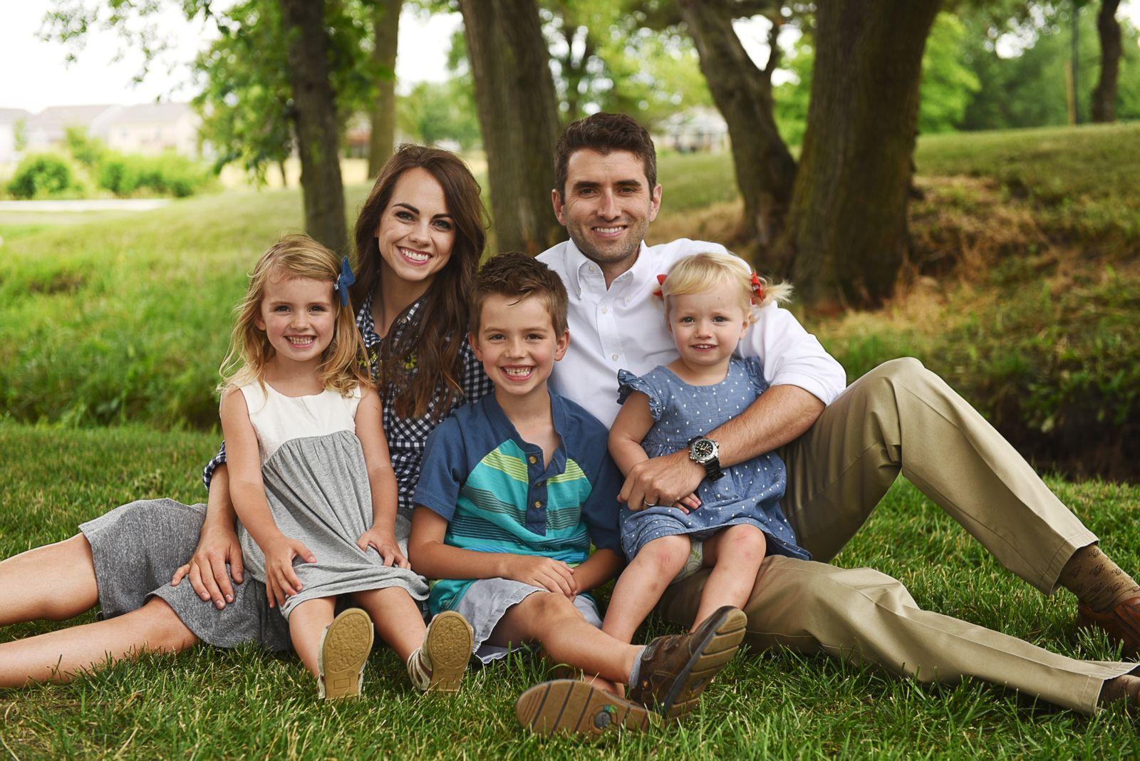Dr. Adam Gerber's family